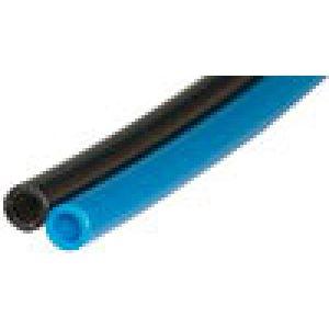 Polyurethane hose calibrated double