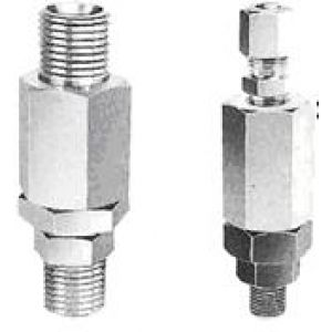Simple rotary connector