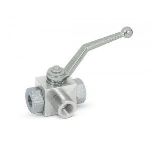 Ball valve, 3-way