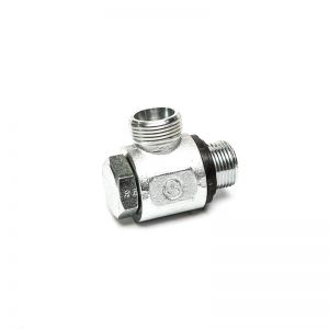 SDOR NW LS - banjo-type connector for inch-metric