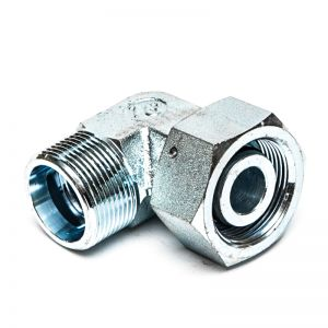 VEW NW LS - angled connector with nut