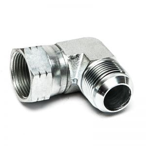 W90 AJ HJ - Screw-on socket, angle 90°