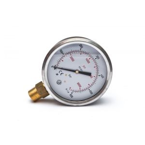 GMM 100 Pressure gauge connection bottom