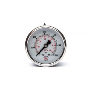GMM 63 H Pressure gauge rear connection