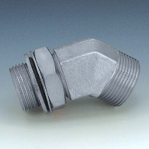 W45 HMOK HJOF - Screw-in socket, angle 45°