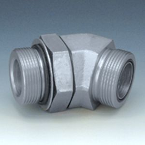 W45 O HJOF - Screw-in socket, angle 45°