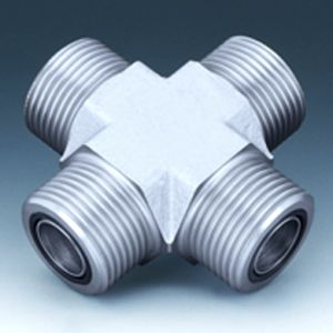 K HJOF - Fitting socket, cross shaped