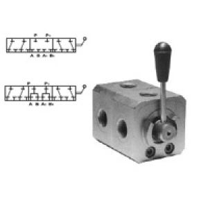 The high-pressure switching valve 6 - road opened or closed in position. the middle