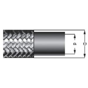SI - fuel hose with external steel braid