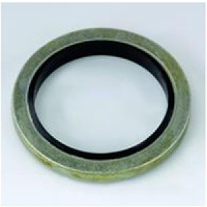 Metal with rubber gaskets centering - Metric