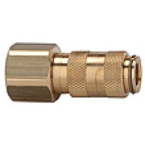 NW Socket 2.7, with thread wewnętrzym, brass