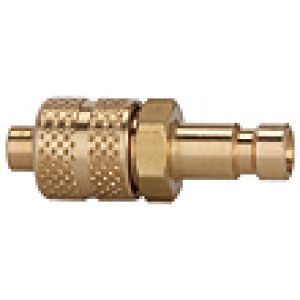 NW2,7 Connector, hose, brass