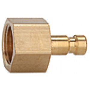 NW Connector 2.7, with internal thread, brass