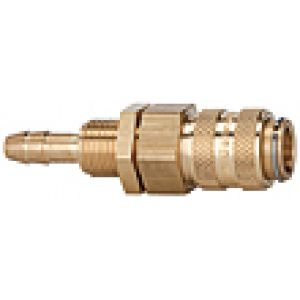 Quick NW 5 to spiral hoses, brass