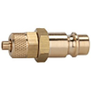 Nipple NW 7.2 with hose nozzle, brass