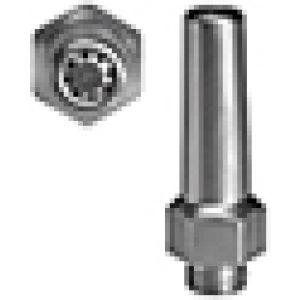 Safety nozzle galvanized steel